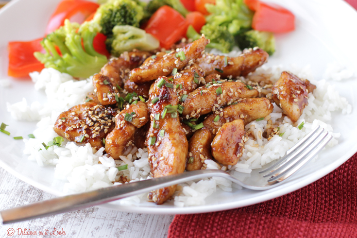 Low Fodmap Sesame Chicken Delicious As It Looks